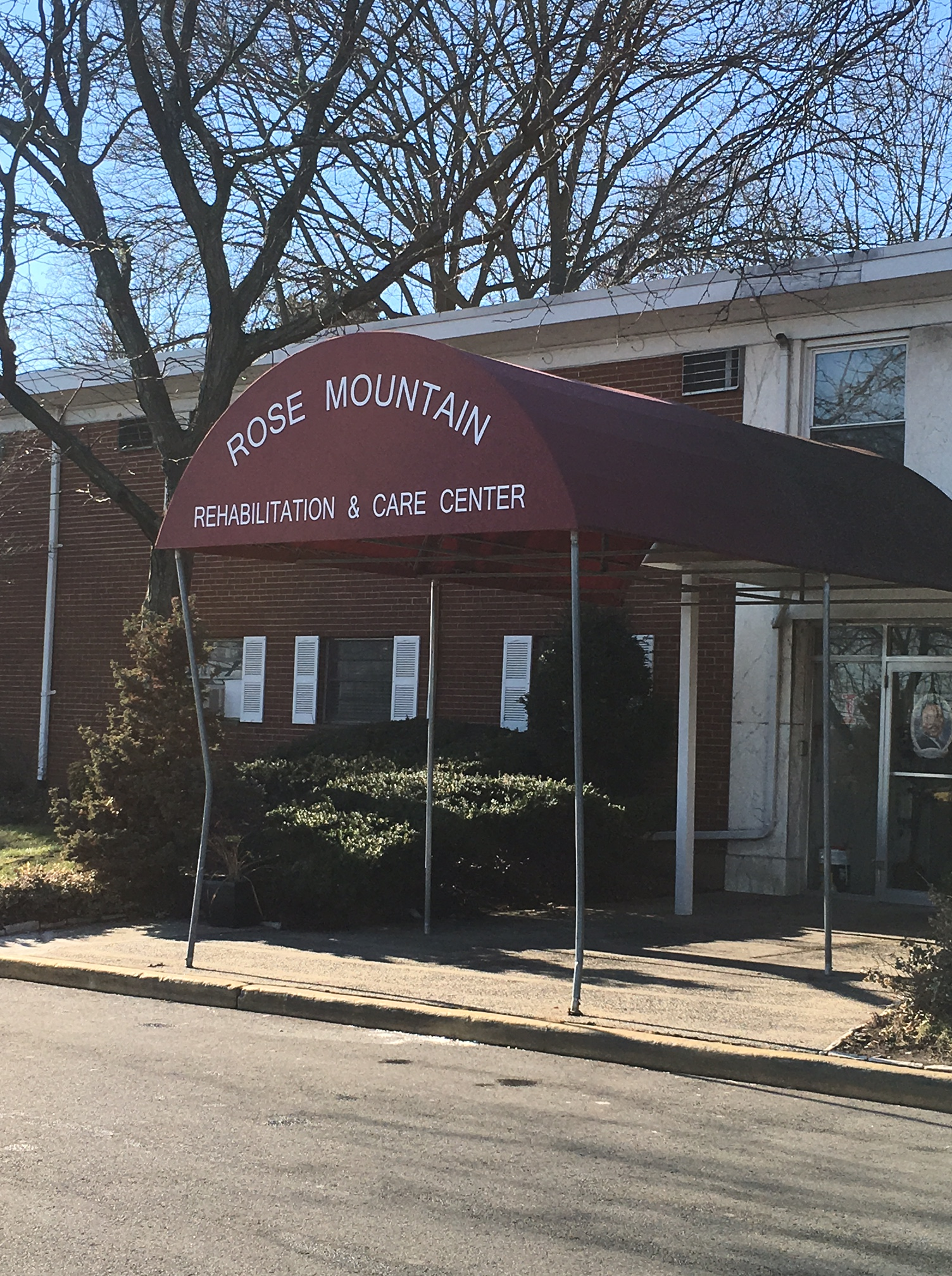 My Visit To The Rose Mountain Rehabilitation And Care Center Regency Nursing Post Acute