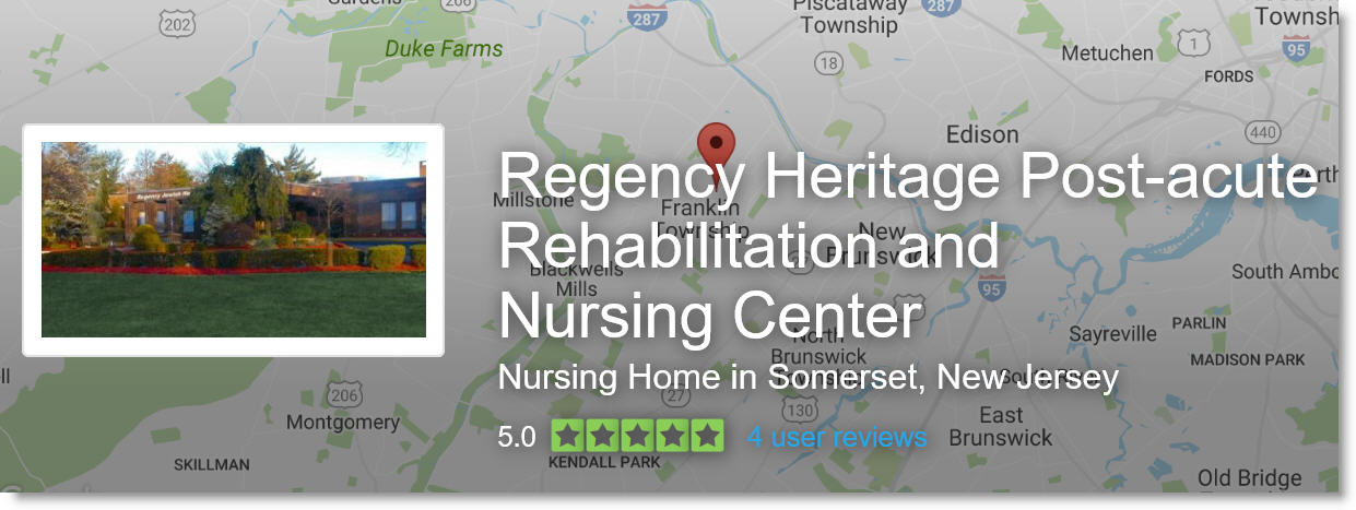 for regency jewish heritage on regency nursing